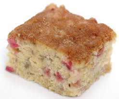 Simple Rhubarb Cake Recipes