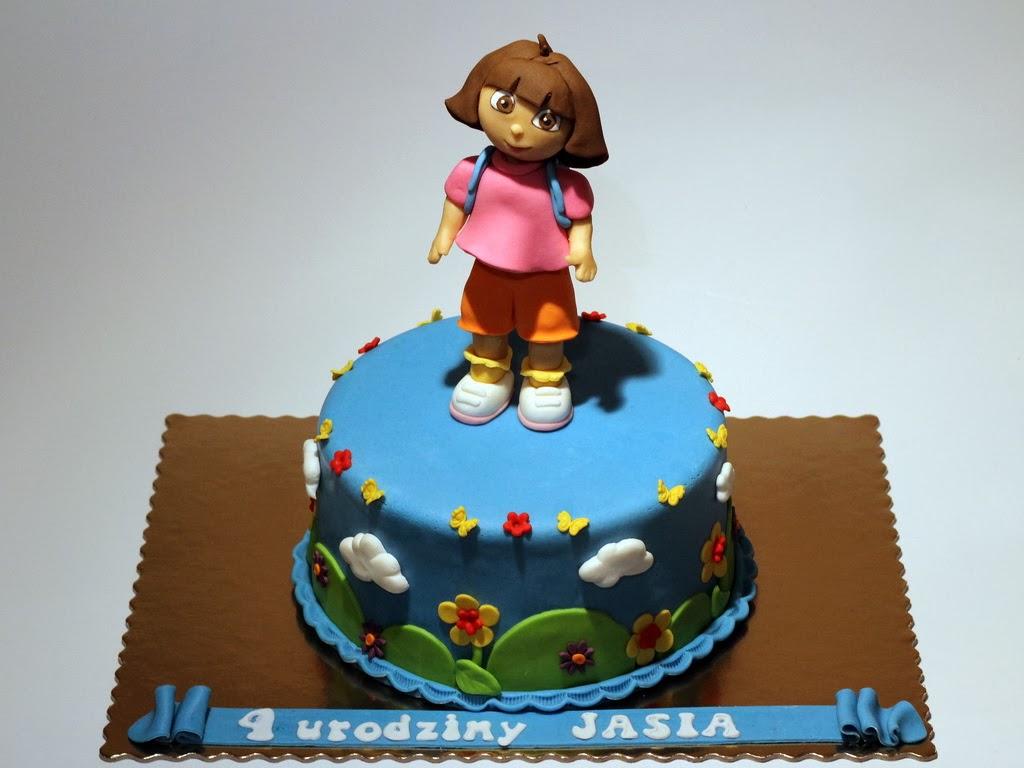 London Patisserie Dora The Explorer Birthday Cake in London