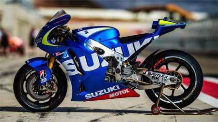 motor Suzuki di MotoGP 2015