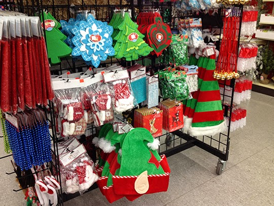 We have a great selection of felt Holiday shapes, battery-operated lights and more!