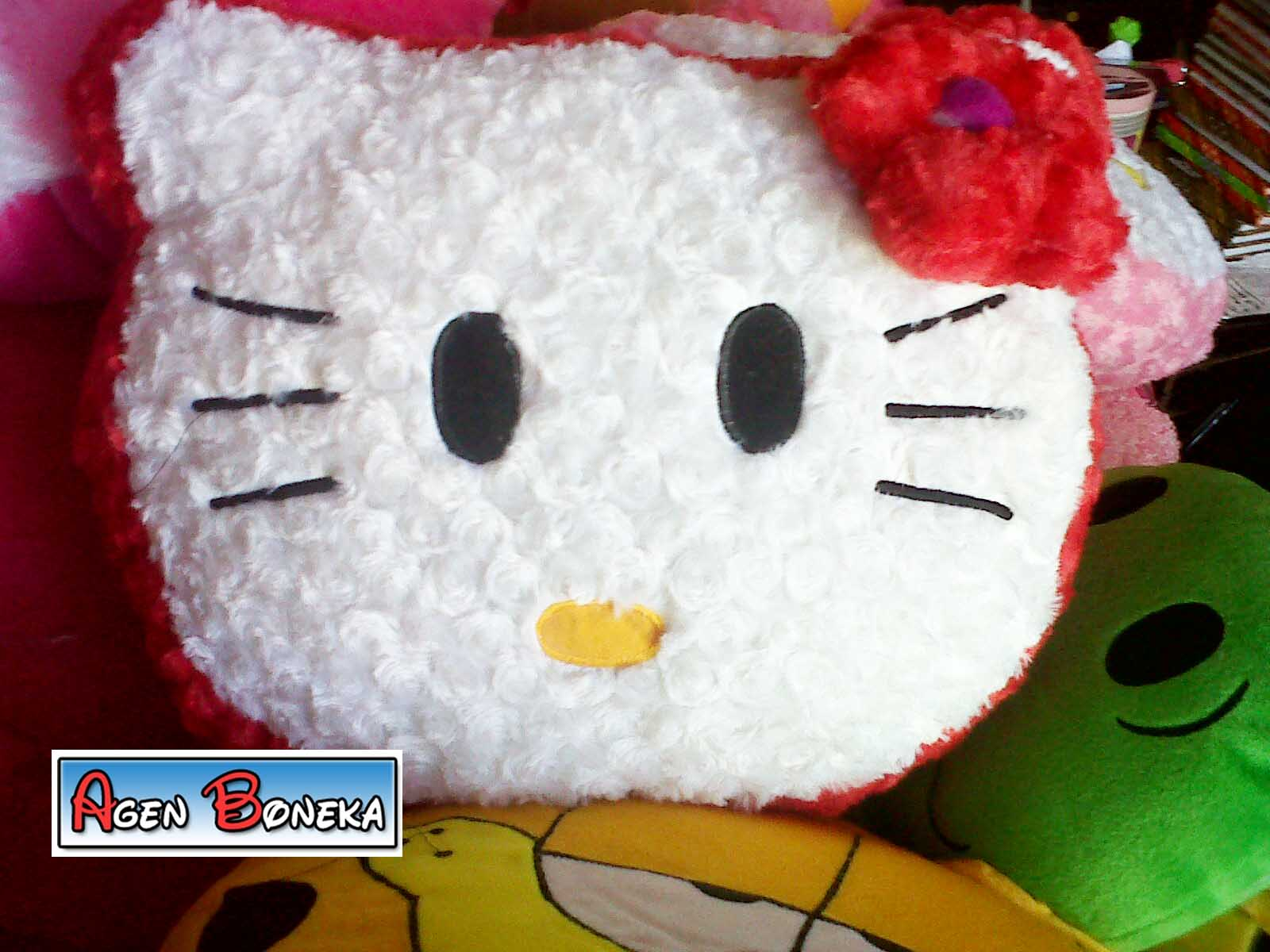 Boneka Bantal Hello Kitty (Head)