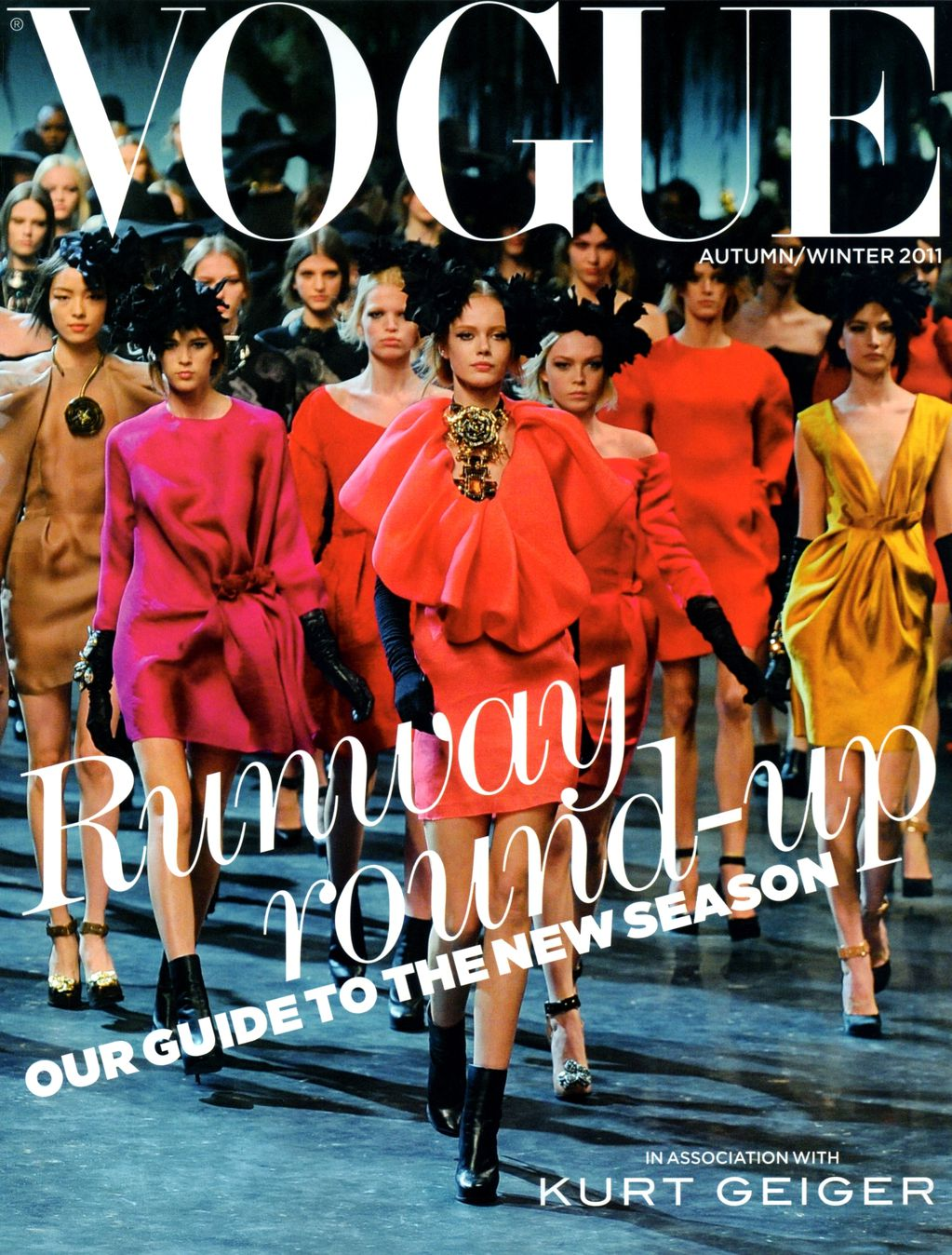 Lanvin on a cover of Vogue UK Collections Special 2011 via www.fashionedbylove.co.uk