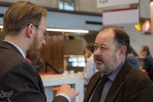 Prof Dr W. van der Merwe and guest