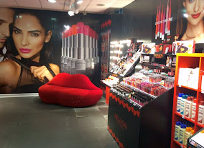 I temporary store Revlon