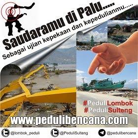 Peduli Lombok dan Palu