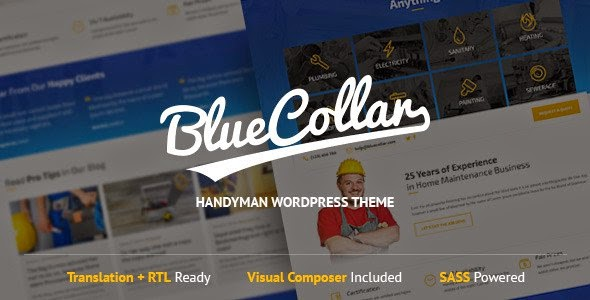 themeforest Handyman WordPress Theme