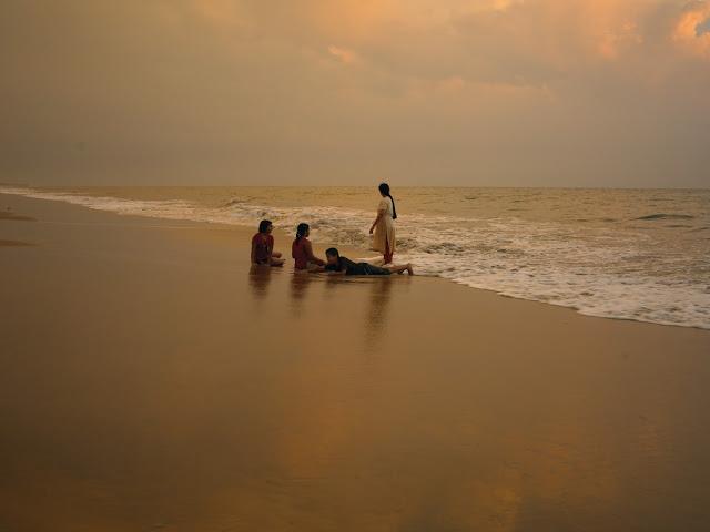 sunset_at_cherai_beach_Kerala