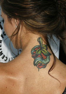 Audrina Patridge Tattoos - Celebrity Tattoo Design Ideas