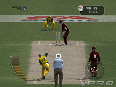 EA CRICKET 2005 SCREEN SHOT