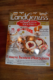 Plätzchen, Kekse, Weihnachtskekse, Weihnachtsplätzchen, Weihnachten, Weihnachtsbäckerei, Rezept. Landgenuss, Cashew-Karamellplätzchen