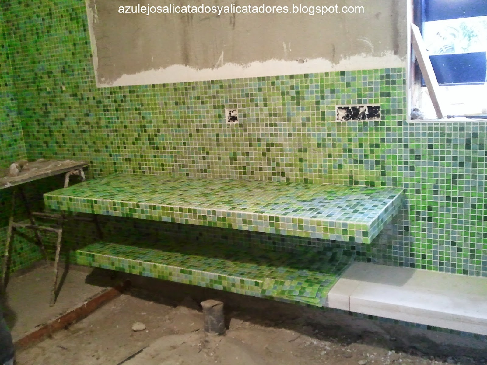 Azulejos Baño Lechada Cemento:AZULEJOS, ALICATADOS Y ALICATADORES: porcelanico