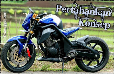 Modifikasi Honda Tiger 2005