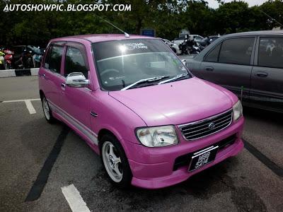 Kelisa convert Daihatsu Cuore