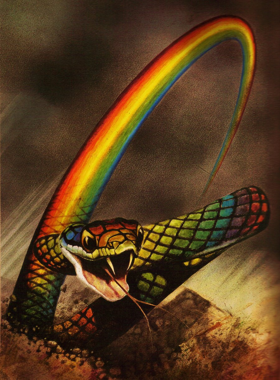 Just Watching the Wheels Go Round: The Rainbow Serpent and 42