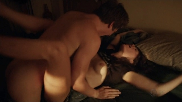 Emma greenwell licking sex in shameless series