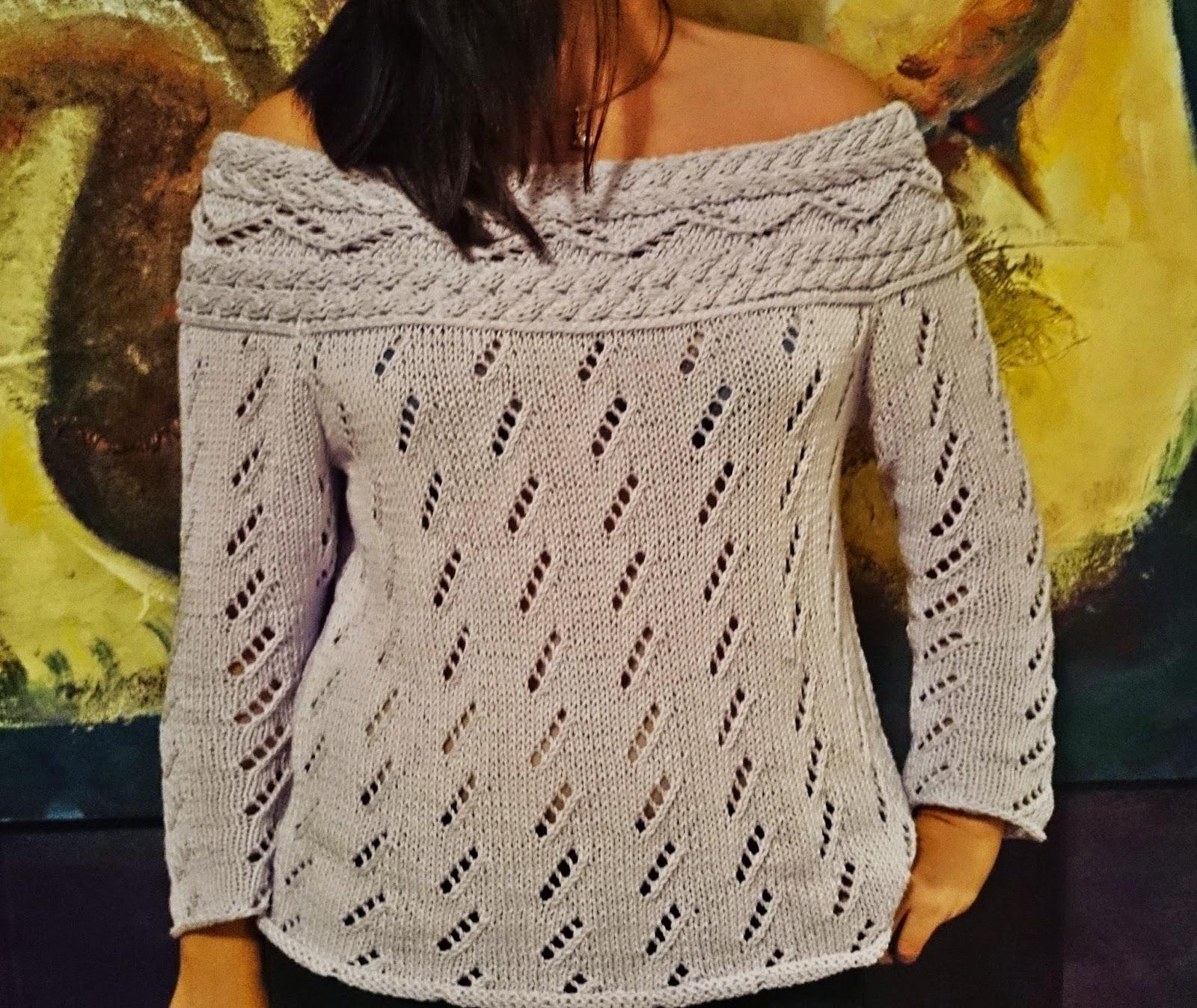 Como hacer el cuello de un jersey de punto - Como hacer un jersey de punto ...