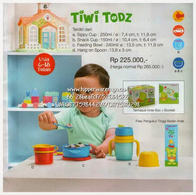 Promo Tupperware Maret Tiwi Todz