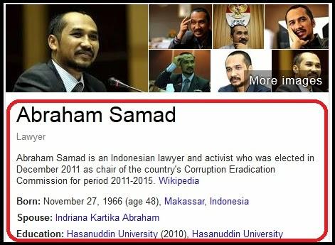 Profil Lengkap Abraham Samad