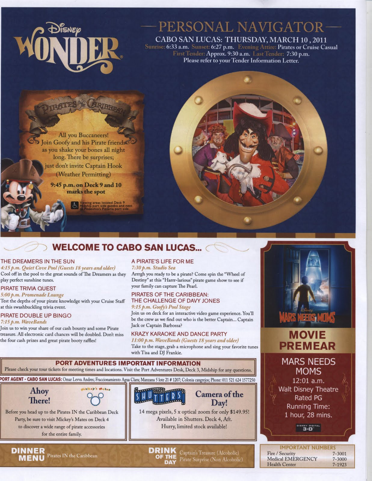 Sample Of Disney Dream Navigator 2014 Autos Post