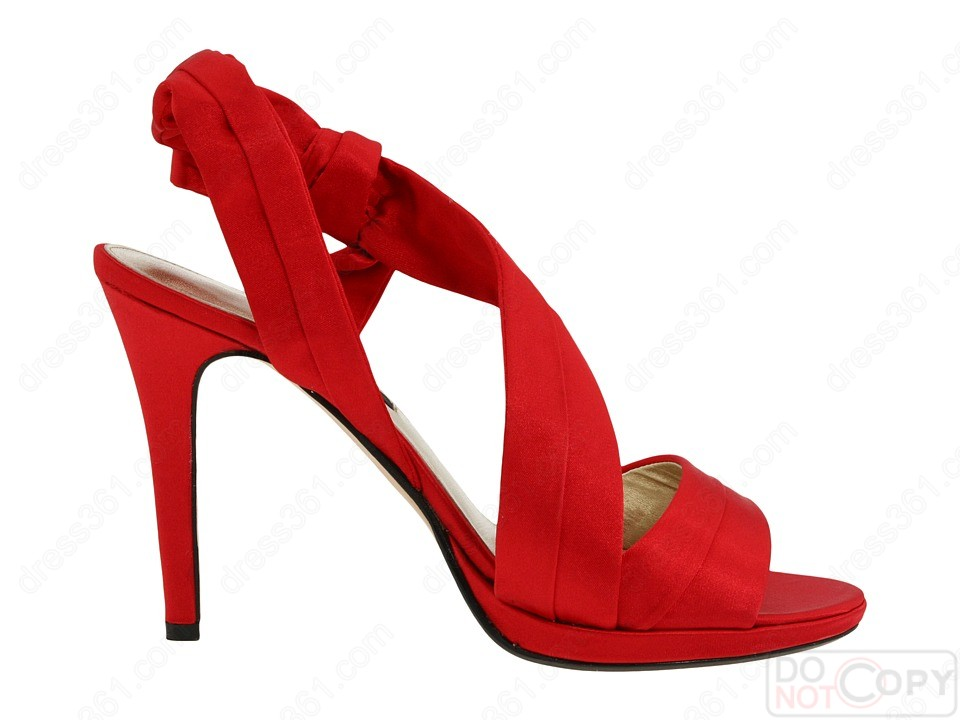 Red Weding Shoes 015 - Red Weding Shoes