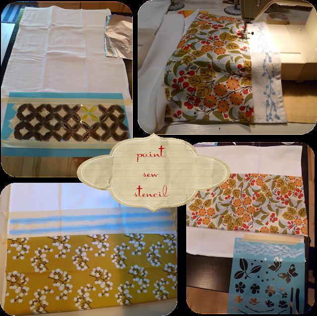 My Suite Bliss: DIY: Kitchen Towels