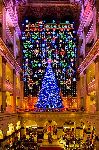 Christmas Light Show Philadelphia