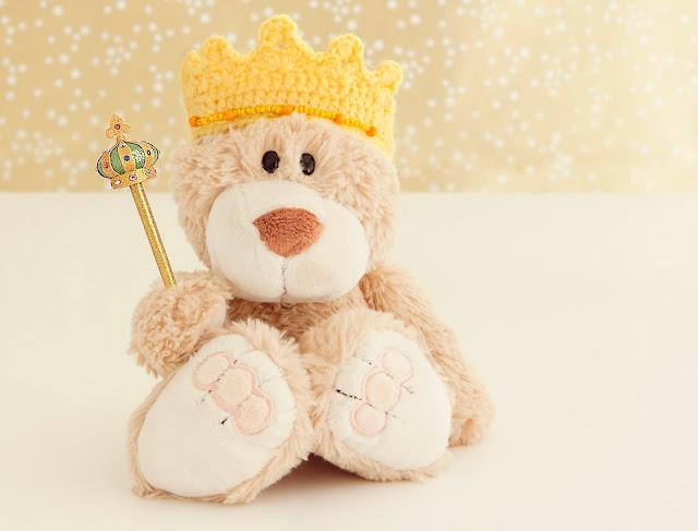patrón corona rey