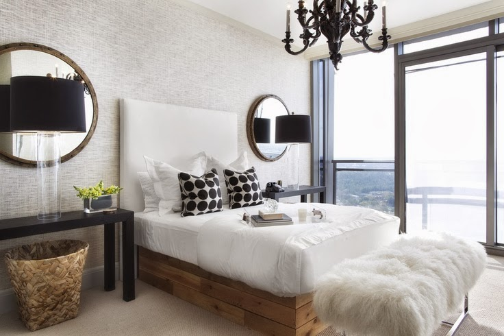Abby Manchesky Interiors Neutral Master Bedroom Design