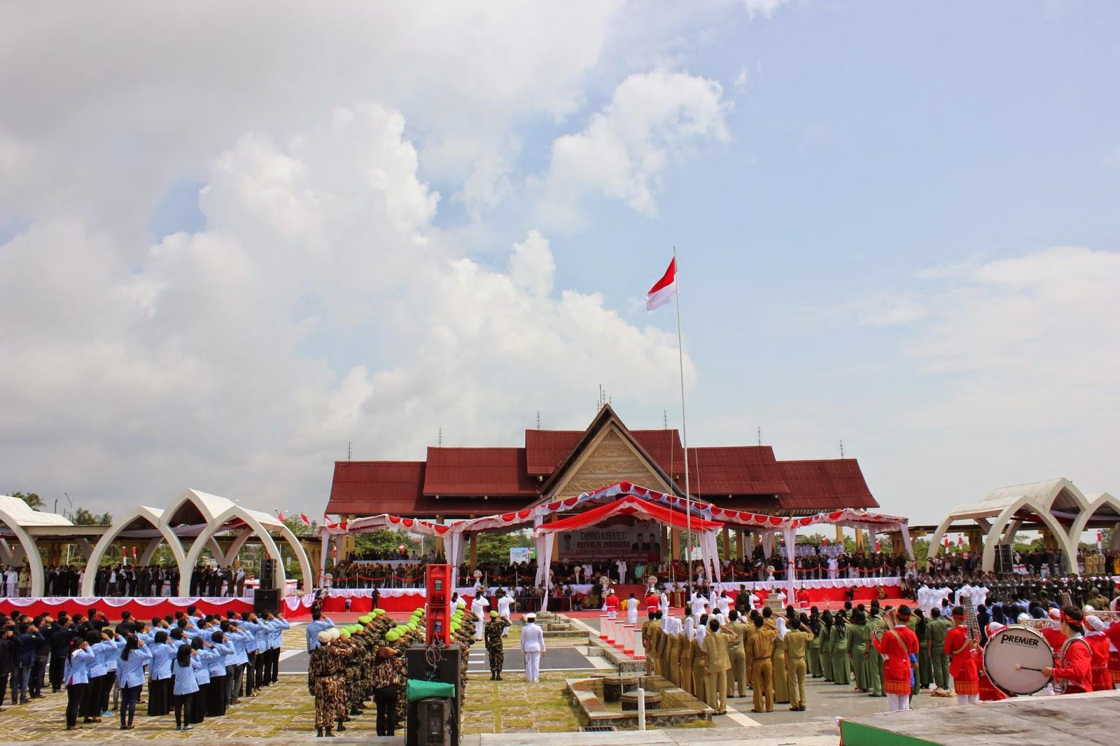 Foto Upacara Bendera 17 Agustus