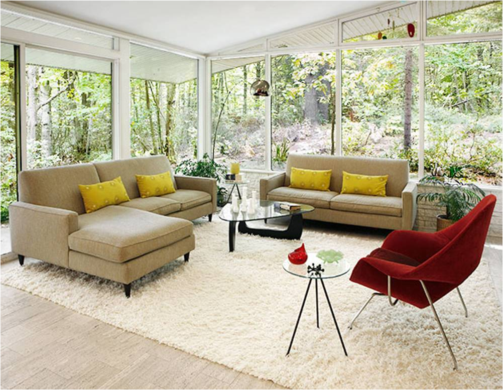 Comfortable Mid Century Modern Living Room Ideas | Architecture And ...