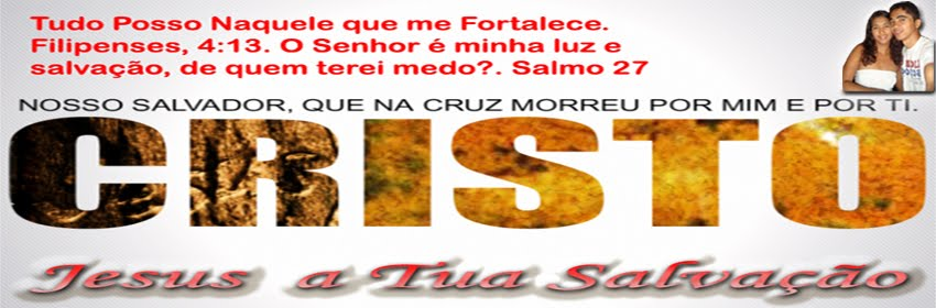 JESUS A TUA SALVAÇÃO