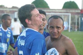 Igor Gaúcho (esquerda) e Igor Cearense, do Nacional (Marcio Melo)