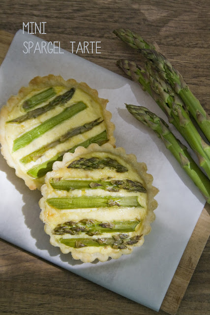 Mini Spargel Tarte