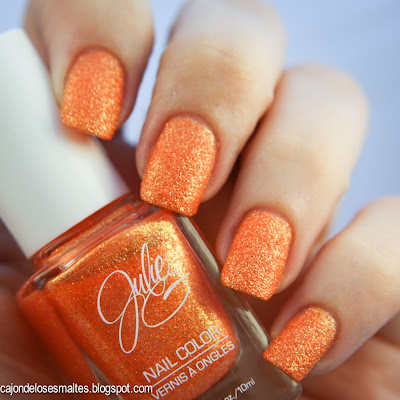 Tangerine Dream JulieG Frosted Gum Drops esmalte arenado