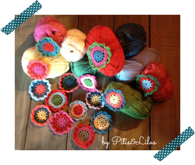 JAPANESE CROCHET FLOWER / FLORES JAPONESAS DE GANCHILLO