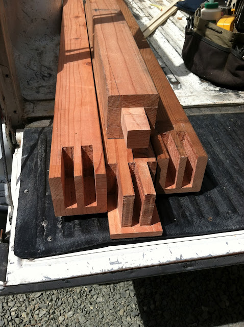 redwood gate joinery