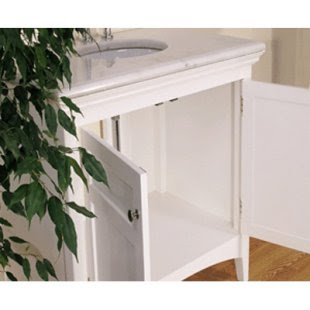 Simple 30-Inch Single Sink Bathroom Vanity 2