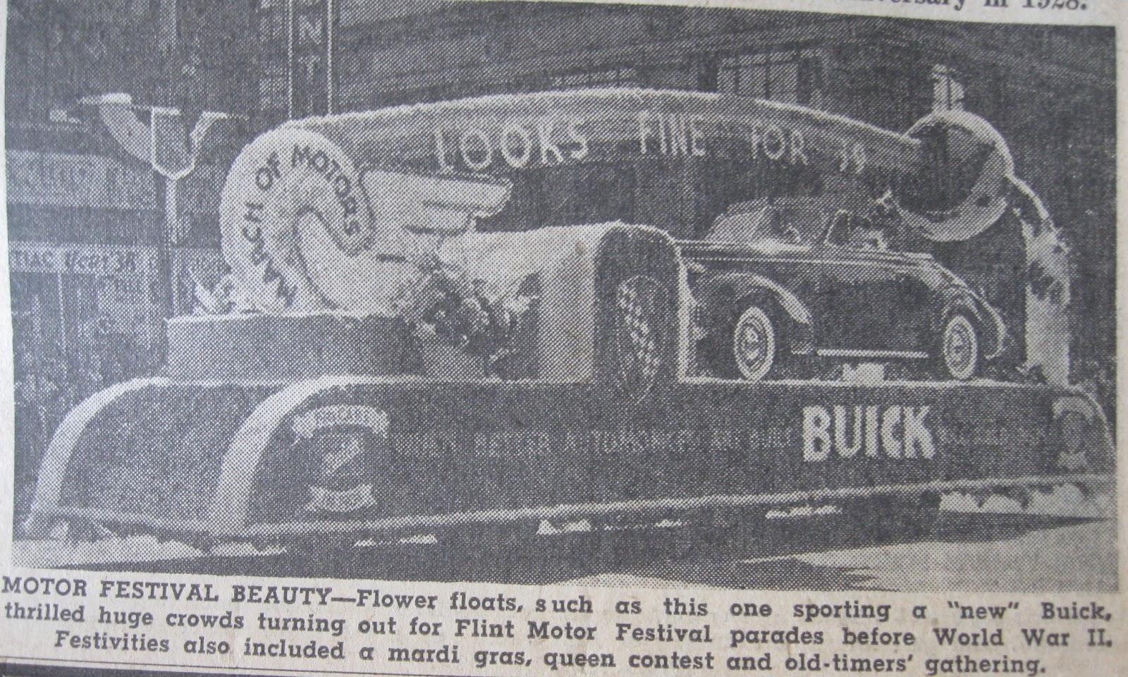 General Motors 50th Anniversary Buick Factory History