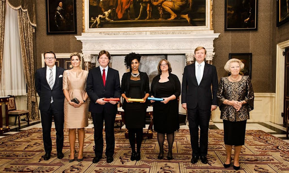 Dutch Royals Attended Erasmus Prize 2015 Ceremony