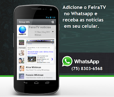 Feira TV no Whatsapp