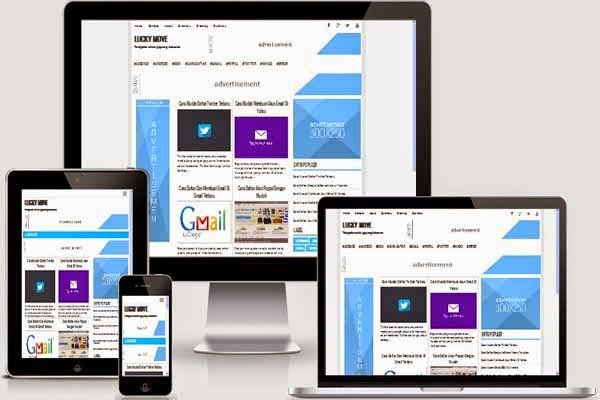 Lucky Move Responsive SEO Friendly Blogger Template