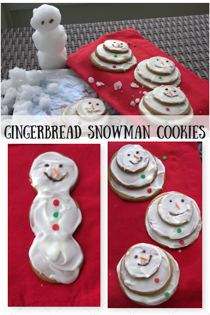 Stay warm and make your snowmen in the kitchen with Finnish Gingersnap recipe and white chocolate