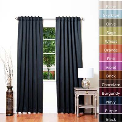 Solid Thermal Insulated Blackout Curtain Home Review