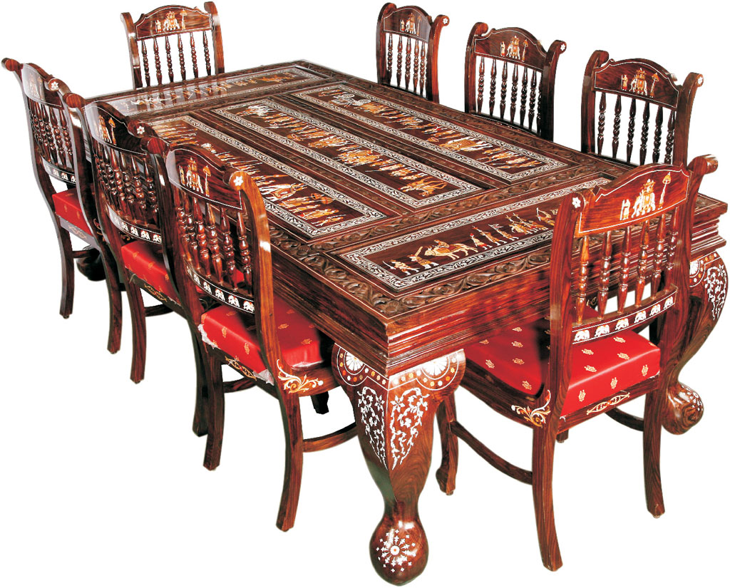 The cultural heritage of india rosewood furniture