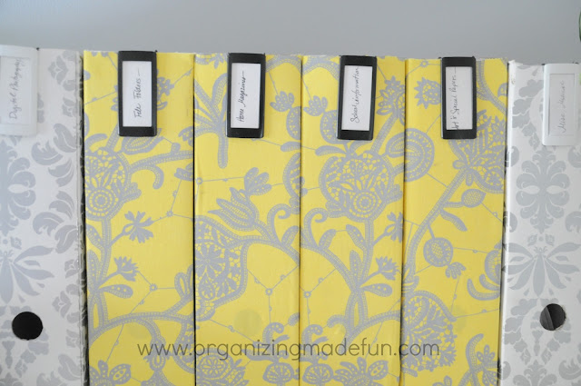 file boxes pattern row organize