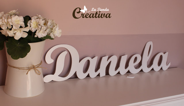 La tienda creativa letras para decorar y mucho m s - Letras decorativas infantiles ...