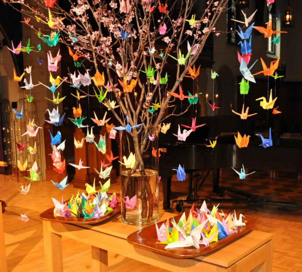 Jp Decor: Origami Maniacs: 11 Projects With Origami Cranes/11