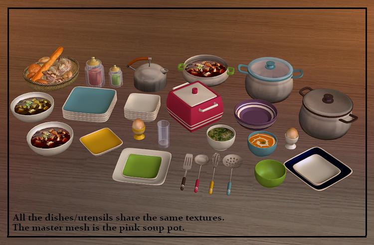 Brigi 39 s home design csod s kacatok lel helye black for Sims 2 kitchen ideas