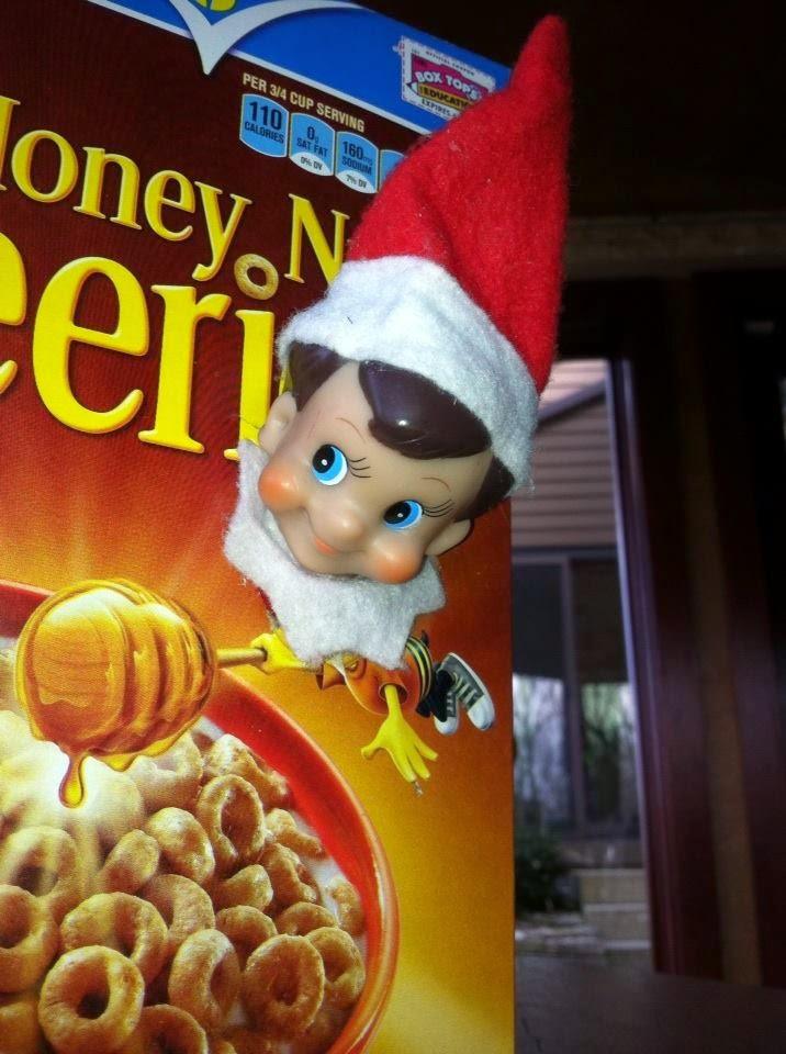 A La Graham Kir Royale And A Little Elf On The Shelf Fun
