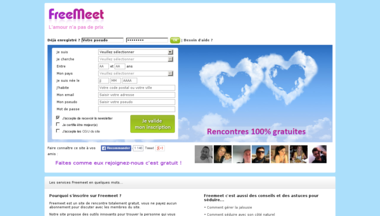 Site de rencontre freemeet